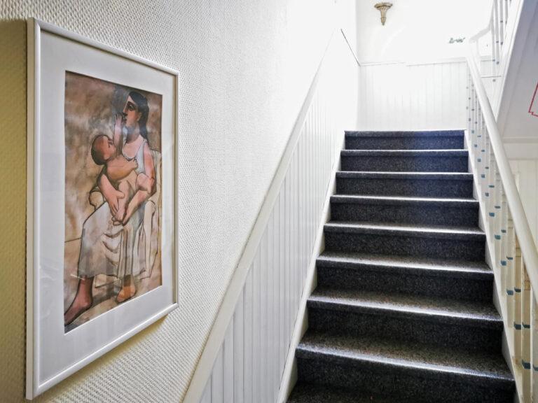 Treppenhaus im Jugendstil